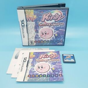 Kirby: Canvas Curse (Nintendo DS, 2005) CIB Complete w/ Manual - Tested!