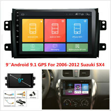 9'' 1080P Android 9.1 Car Stereo Radio GPS Navigation For 2006-2012 Suzuki SX4