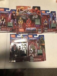 Mega Construx He-Man Masters Of The Universe Lot
