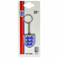 England Crest Keyring - England FA Official Three Lions - England World Cup