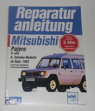 Reparaturanleitung Mitsubishi Pajero L040 mit 4- und 6-Zylinder Motor, ab 1982