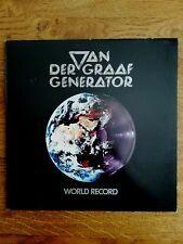 "KLP VAN DER GRAAF GENERATOR - ""WORLD RECORD"" - Charisma CAS 1120 / 1976"