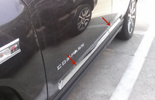 FIT FOR JEEP Compass 2011-2014 ABS Chrome Car Body Door Side Molding Trims 4CPS