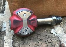 EUC Speedplay Titanium !Left-Only! Pedal Red 50mm spindle