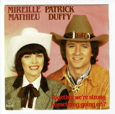 """Mireille MATHIEU & P. DUFFY Vinyl 45T 7"""" TOGETHER WE'RE STRONG - ARABELLA 105077"""
