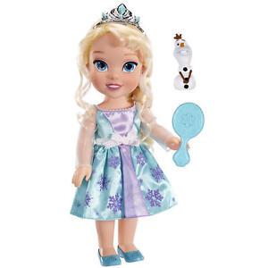 "Disney Frozen Toddler Doll - Elsa 15"" tall 38 cm"