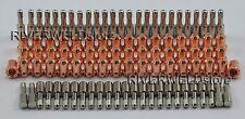 100PCS Thermal Dynamics PCH/M-26/28/35/38 Plasma Consumables Ref:9-6506+9-6501
