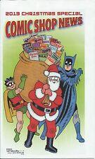 COMIC SHOP NEWS CSN 2013 CHRISTMAS SPECIAL PROMO GIVEAWAY BATMAN & ROBIN VFNM