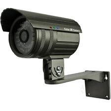 1/3 CCTV telecamera a colori super had Chip IR Telecamera Esterna resistente alle intemperie 6mm con supporto