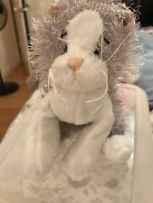 Webkinz Ganz Gray and White Cat new, no code