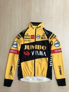 Jumbo Visma Team issue Bianchi LS WINTER THERMAL JACKET BNIB MEDIUM