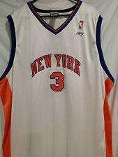 Team Reebok New York Knicks #3 Stephon Marbury Jersey Stitched Sz XXL