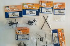 REVELL PROTO CX PARTS LOT-GEARS-SHAFTS-SKIDS-FRAME-SWASHPLATES-NEW
