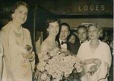 Betsy Blair - La Bégum - Isa Miranda 1955 - Festival de Cannes - PR 753