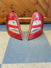 Skoda Fabia Mk.1 Hatchback 00-04 pair Rear Light near side and off side