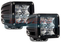 PAIR OF RIGID INDUSTRIES DUALLY 20221 12V/24V LED SPOT LIGHT LAMP PODS E-MARKED