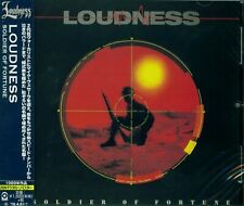LOUDNESS SOLDIER OF FORTUNE JAPAN 2015 RMST CD - MINT THROUGHOUT WITH OBI