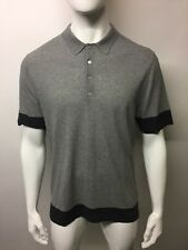 BURBERRY BRIT Fulton Polo Taille L Gris clair
