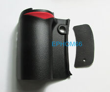 A Unit For Nikon D80 Front Hand Grip Rubber and Back Rear Thumb Rubber New Parts
