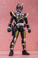 Japan Rare Shokugan Shodo Out Sider Kamen Rider Kaixa Mini Action Figure MISB