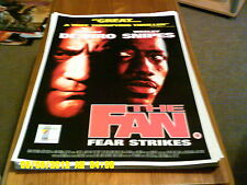 The Fan (wesley snipes, robert de niro) A2+ Movie Poster