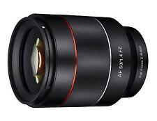 Samyang AF 50mm F1.4 Full Frame Auto Focus Lens for Sony E Mount FE - SYIO50AF-E