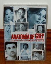 ANATOMIA DE GREY 2ª TEMPORADA 1ª PARTE PRECINTADO NUEVO 4 DVD CASTELLANO SERIES