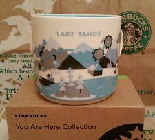 Starbucks Coffee Mug/Tasse/Becher LAKE TAHOE,You Are Here,NEU/Sticker i.OVP-Box!