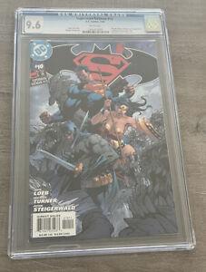 Batman Superman 10 CGC 9.6 NM+ Jim Lee Cover