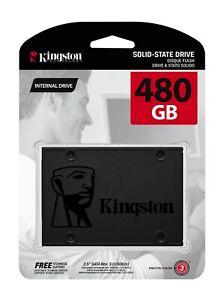"Kingston 480GB SSD SATA III 2.5"" Solid State Drive 480 GB Hard Disk HDD"