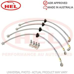 HEL Braided BRAKE Lines hose HOLDEN Commodore VE Clubsport E1 HSV / AP 4-pots