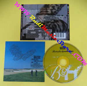 CD Singolo Muse Butterflies & Hurricanes ATUK003DVD UK 04 no lp mc vhs dvd(S31)