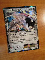 NM Pokemon STEELIX EX Card STEAM SIEGE Set 67/114 XY X and Y Ultra Rare