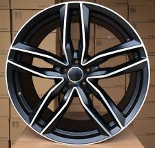 22 Zoll felgen für Audi A7 A8 Q5 Q7 RS6C stil 5x112 66.5 9J ET30 4 felgen satz