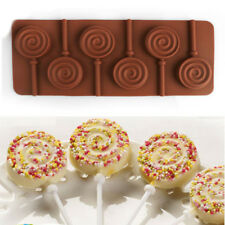 Round Sticks Shape Lollipop Mold Silicone Cake Candy Chocolate Lollypop Mold DB