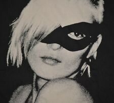Kate Moss Cat Mask T-Shirt Size Large L Gray Tee Vogue Supreme Style