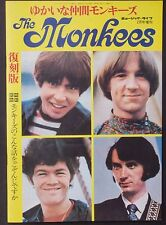 06527 The Monkees Japanese Book 1967 Music Life Peter Tork / Davy Jones