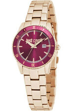 Reloj Just Cavalli Just In Time Mujer Correa Rosa Acero Inoxidable R7253202503