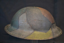 NICE PAINTED WWI US MODEL 1917 HELMET CAMO PATTERN 82nd Division Doughboy RARE !