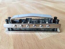 Lap Steel / slide guitar 6 string adjustable bridge in chrome