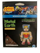 Metal Earth Puzzle 3D Model Kit Legends Wonder Woman Nano New Justice League