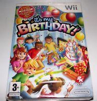 It's My Birthday Nintendo Wii PAL *New Sealed* With Invites etc