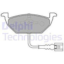 DELPHI Disc Brake Pad Set For VW SEAT SKODA AUDI MERCEDES Beetle Fox JZW698151