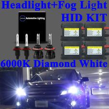 NEW 4X Bi-Xenon HID Headlight Kit DBK Hi-Lo Beam Fog Light 9007 880 / 881 6000K