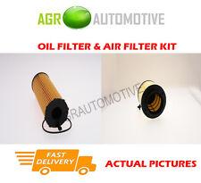 DIESEL SERVICE KIT OIL AIR FILTER FOR AUDI A4 ALLROAD QUATTRO 3.0 239BHP 2009-12