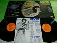 ELVIS PRESLEY : Aloha from Hawaii via satellite - Orig 1973 UK double LP NM 205