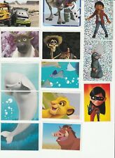 Lot de 26 cartes DISNEY  Carrefour 2017 neuves, dont 2 brillantes et 1 animée