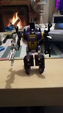 Transformers G1 Bombshell Vintage Decepticon with Blaster and Instructions