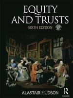 Equity and Trusts by Hudson, Alastair