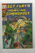 Sgt. Fury and his Howling Commandos #63 7.5 (O/W) VF- Marvel 1969 Silver Age
